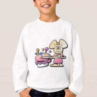 Cute Seamstress Mouse Sweatshirt