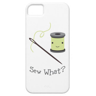 Cute Sew What iPhone 5/5S Cases