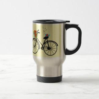 Cute Shabby Chic Vintage Bike Mug