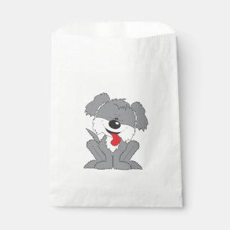 Cute Shaggy Puppy Cartoon Favour Bags