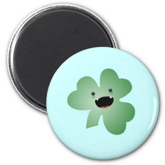 Cute Shamrock Fridge Magnet