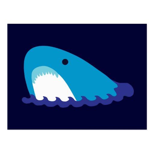 Cute Shark Post Card