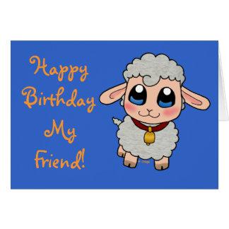 Cute Sheep Card