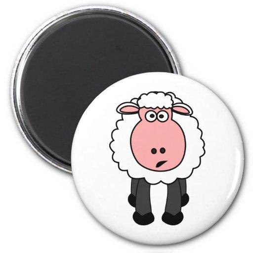 Cute Sheep Design Magnets
