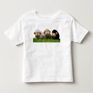 Cute Sheep In Meadow Novelty Toddler's T-Shirt