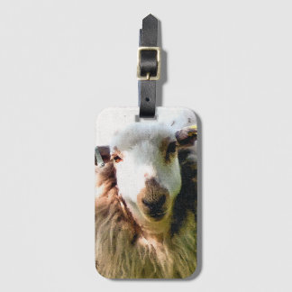 CUTE SHEEP LUGGAGE TAG