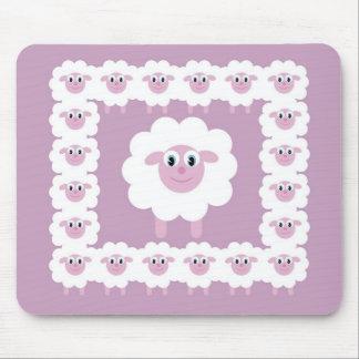Cute sheep mouse mat