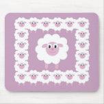 Cute sheep mouse mat mousepads