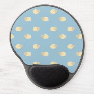 Cute Sheep Pattern Gel Mousepad
