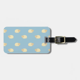 Cute Sheep Pattern Luggage Tag