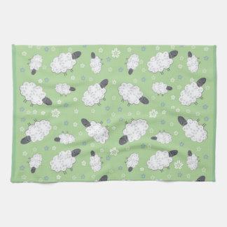 Cute Sheep Placemat Tea Towel
