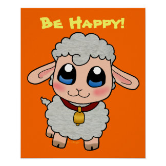 Cute Sheep Poster