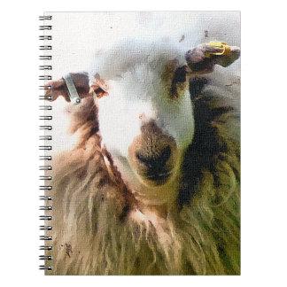 CUTE SHEEP SPIRAL NOTEBOOK