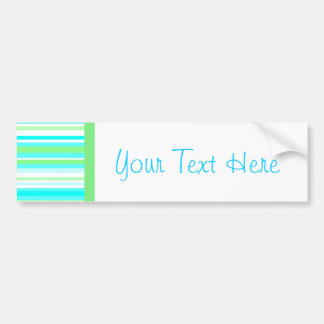 Cute Sherbert Collection Bumper Sticker