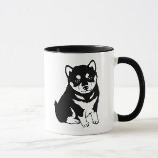 Cute Shiba Inu Puppy Art Mug