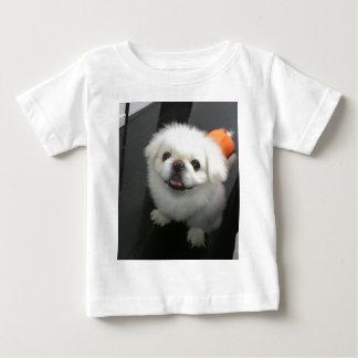 Cute shih tzu looking at the camera baby T-Shirt