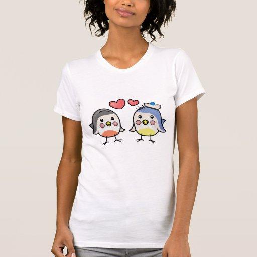 cute shirt with bird print