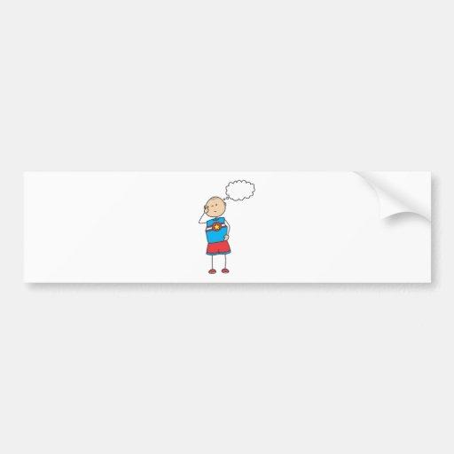 Cute Shirts | Cute Boy Thinking Gift Shirts Bumper Stickers