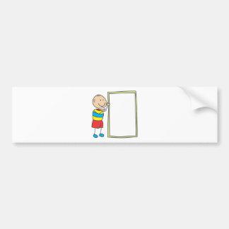 Cute Shirts | Cute Boy With Whiteboard Gift Shirts Bumper Sticker