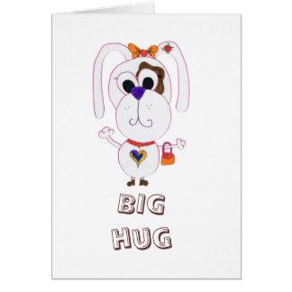 Cute shopaholic greeting card