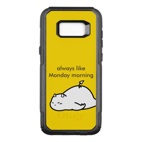 Cute Shy Devil in LOVE OtterBox Commuter Samsung Galaxy S8+ Case