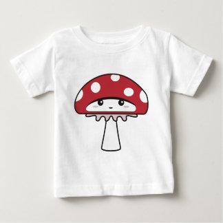 Cute Shy Kawaii Toadstool Baby T-Shirt