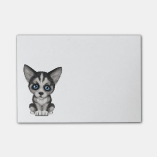 Cute Siberian Husky Puppy Dog Post-it Notes