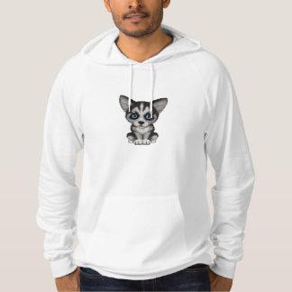 Cute Siberian Husky Puppy Dog Sweatshirts