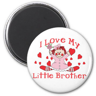 Cute Sibling Gift 6 Cm Round Magnet
