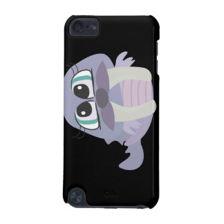 cute silly purple walrus vector character iPod touch (5th generation) case