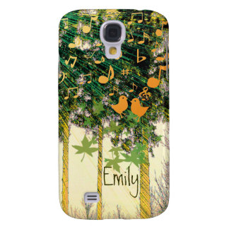 Cute Singing Birds Rays of Hope iPhone Cover Samsung Galaxy S4 Cover