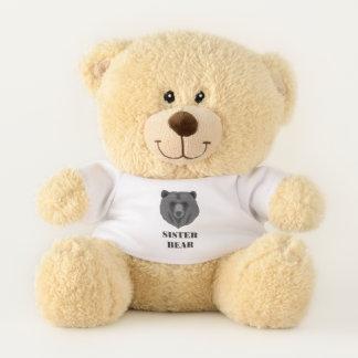 Cute Sister Bear Sherman Teddy Bear