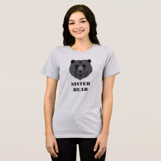 Cute Sister Bear Women's T-Shirt