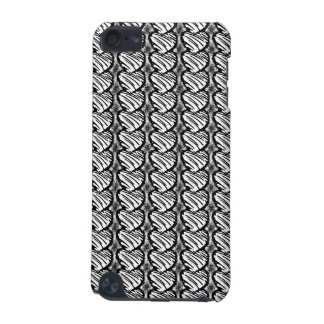 Cute Sketched Stripes of Hearts iPod Touch 5G Case