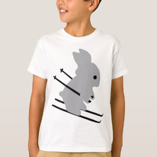 cute ski bunny  snow skiing T-Shirt