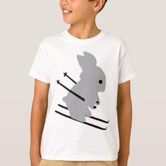 cute ski bunny  snow skiing tshirts