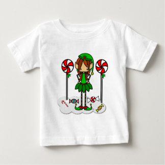 Cute skinny elf Christmas girl Shirt