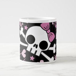 Cute Skull and Crossbones Large Coffee Mug