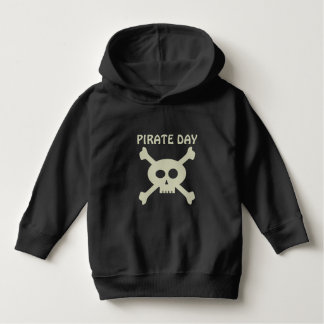 Cute Skull and Crossbones Pirate Day Kids Hoodie
