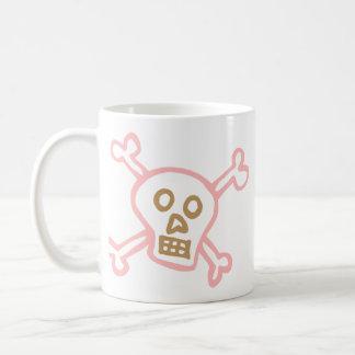 Cute Skull Crossbones Graffiti Mugs