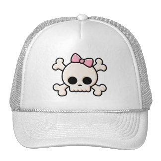 Cute Skull Girl Cap