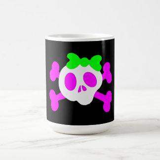 Cute Skull Mug Basic White Mug