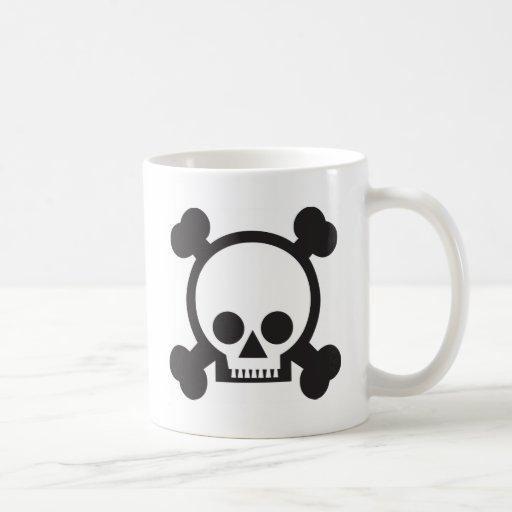 Cute Skull Coffee Mugs