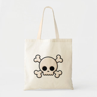 Cute Skull Tote Bag
