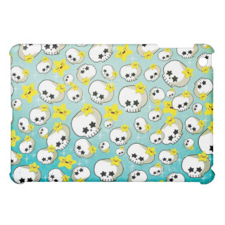 Cute Skulls And Stars Pattern Cover For The iPad Mini
