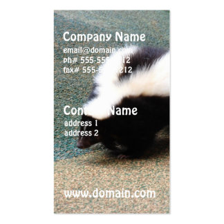 Cute Skunk Business Cards
