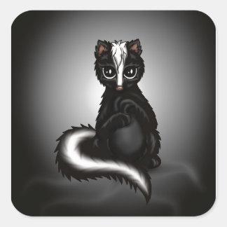 cute Skunk Square Sticker