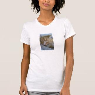 Cute Sleeping Cat T-shirt