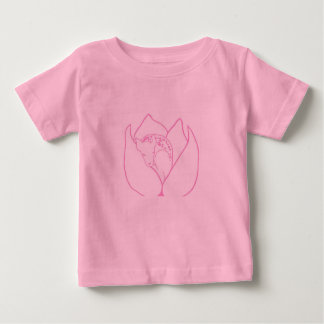 Cute sleeping doe baby shirt