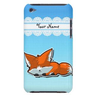 Cute Sleeping Fox Case-Mate iPod Touch Case
